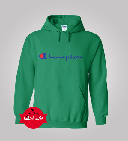 Hoodies champion logo