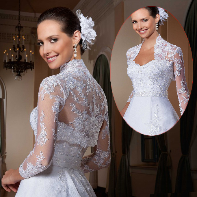 Aliexpress.com : buy fashionable unique aplique beaded vintage lace long sleeve wedding dress sexy satin long train bridal gowns vestido de noiva from reliable gowns and dresses suppliers on dreamyfashion