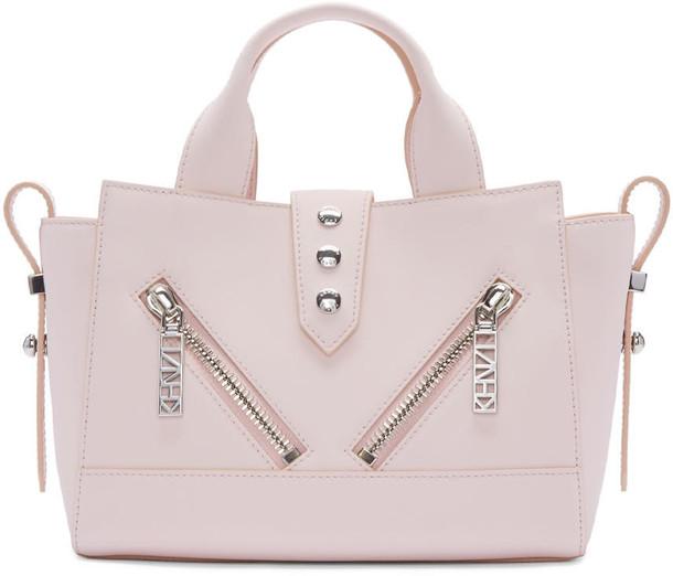 Kenzo mini pink bag
