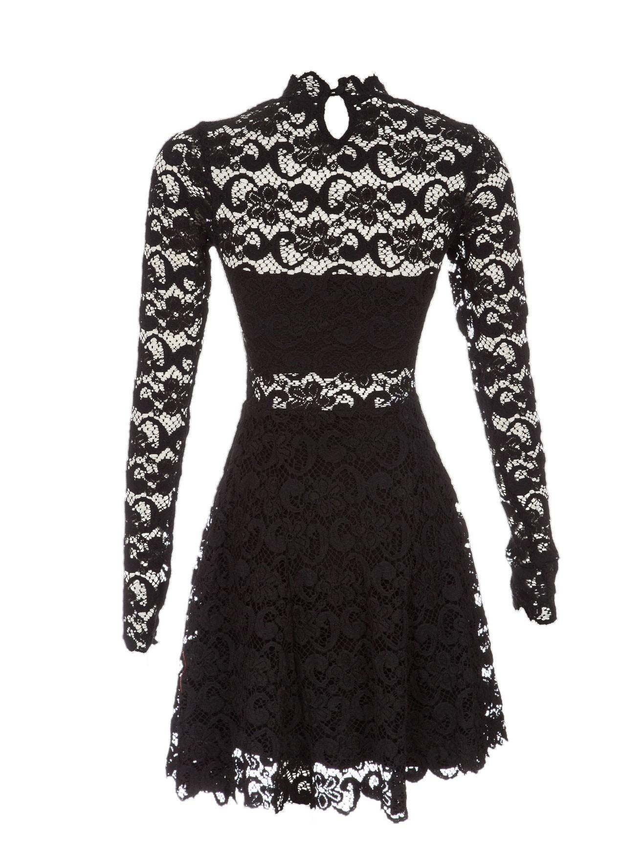 Exclusive dixie lace fit & flare dress