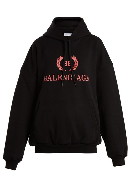 Balenciaga sweatshirt black sweater