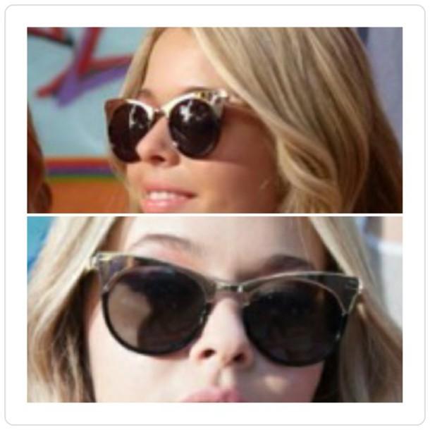 sunglasses gbf goldtrim retro shades