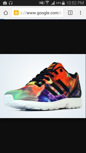 shoes colorful size 10 adidas