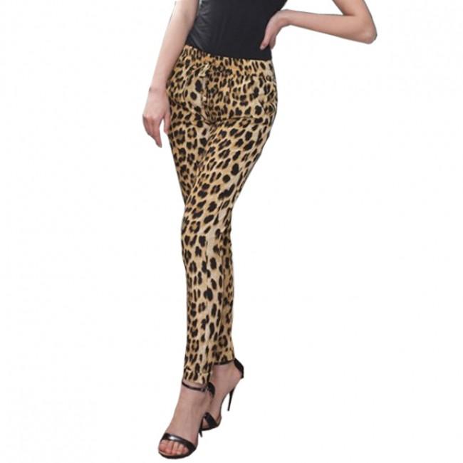 Leopard Loose Pants