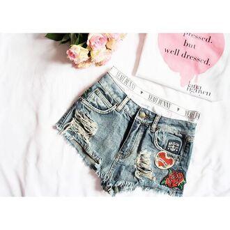 underwear yeah bunny pink pastel cute high waisted pants panties boyshorts