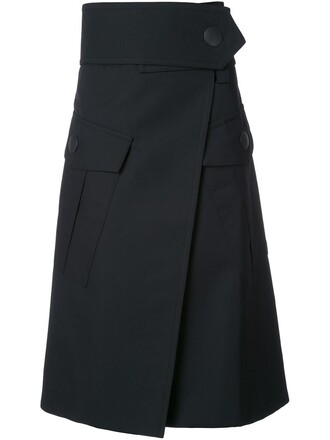 skirt maxi black