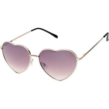 1fe462af2b Luvs Eye Heart Silver Sunglasses at Zumiez   PDP