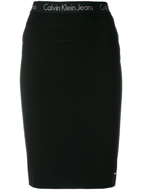 skirt pencil skirt women spandex black