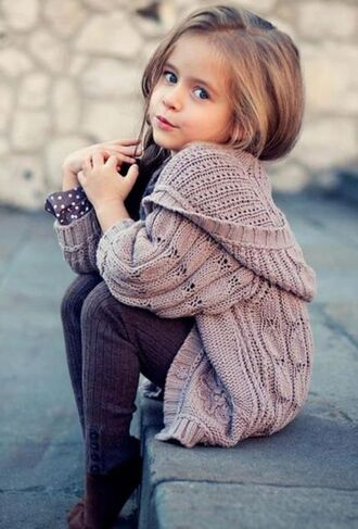 sweater girl girly kids fashion toddler knit cute little diva cardigan dress grey sweater