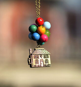 jewels necklace up gold chain pearl house pixar