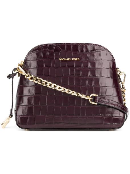 MICHAEL Michael Kors women bag crossbody bag leather purple pink