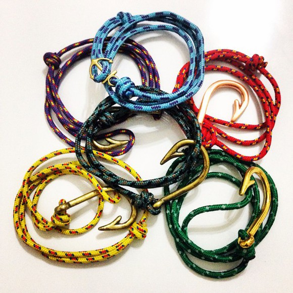 jewels bracelets anchor miansai style unisex fashion