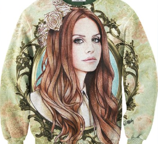 Floral lana sweatshirt  / big momma thang