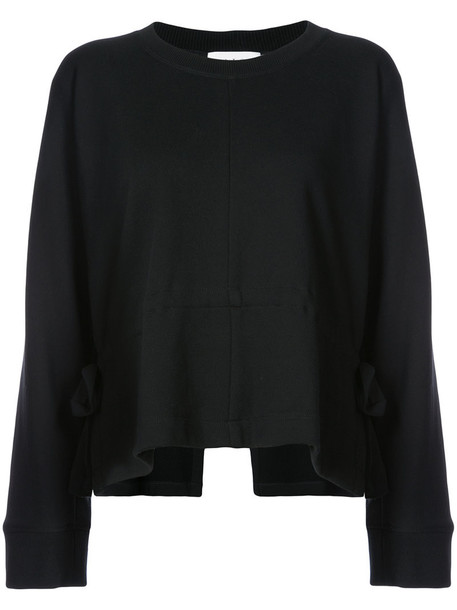 sweater women cotton black