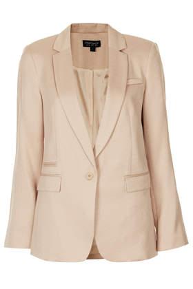 Boyfriend Shimmer Blazer - Blazers - Jackets & Coats  - Clothing - Topshop