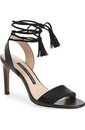 shoes,black sandals