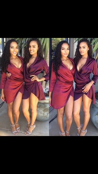 dress red sexy