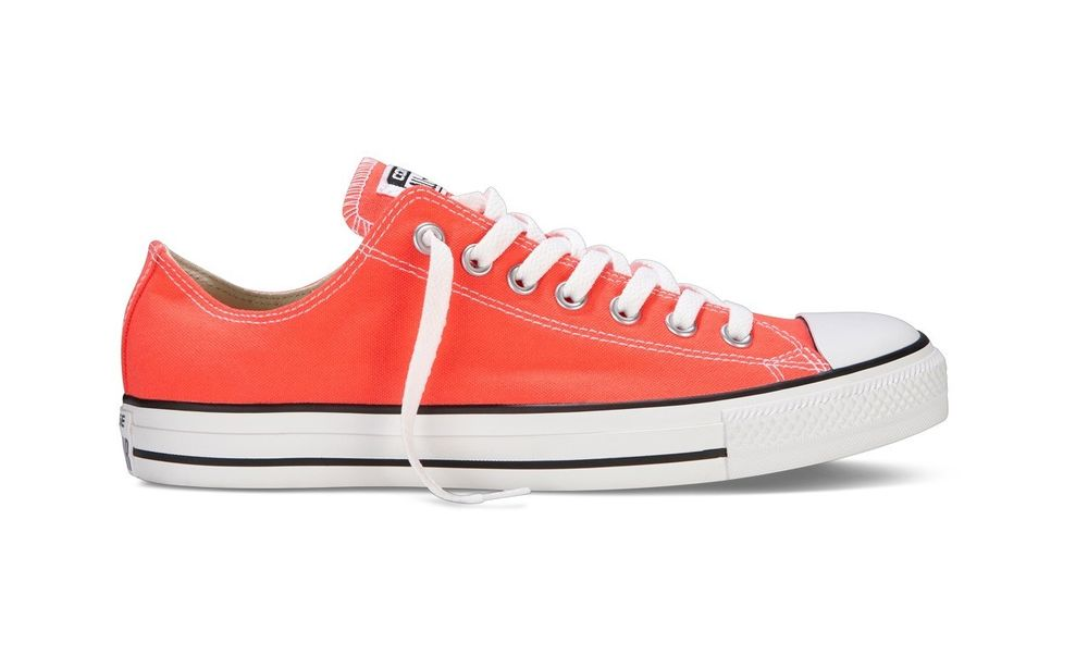 Converse All Star Chuck Taylor 139799F Ct Ox Fiery Coral Low Canvas Shoes | eBay