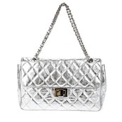 silver,bag,chanel,purse