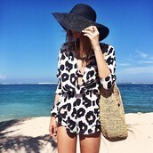 dress,jumpsuit,leopard print,animal print,short,summer