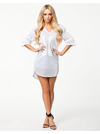 Next Level Jersey Dress - Fanny Lyckman For Estradeur - Vit - Klänningar - Kläder - Kvinna - Nelly.com