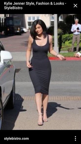 kylie jenner bodycon dress black dress dress