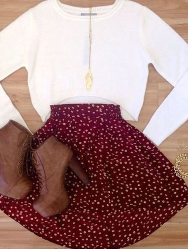 crop tops crewneck off-white cropped sweater fall sweater fall outfits
