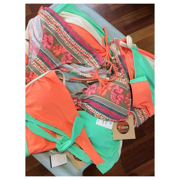swimwear bikini october sorbet orange guava new arrival eidonsurf