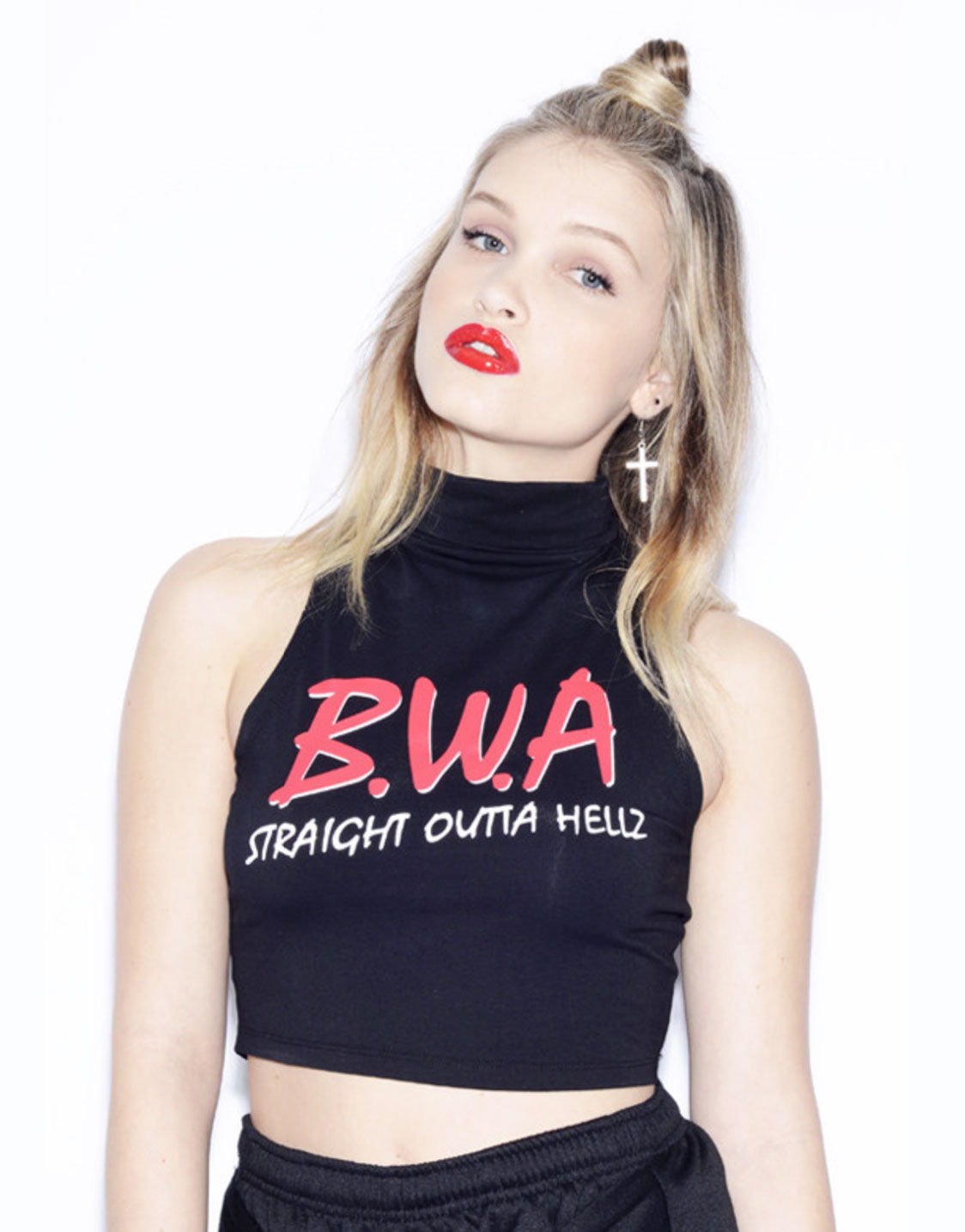 3a6febb37313b2 HLZBLZ BWA Straight Outta HLZ crop top