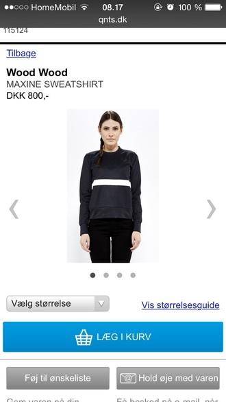 blouse black sweatshirt