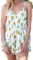 Pineapple Girl Romper