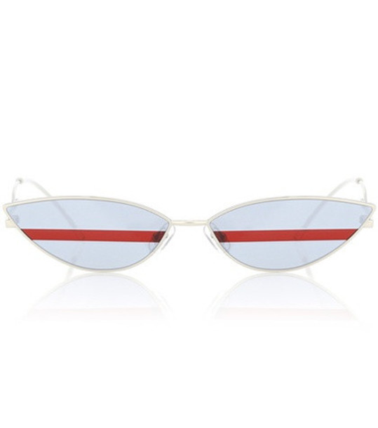 Gentle Monster Poxi 02 sunglasses in silver