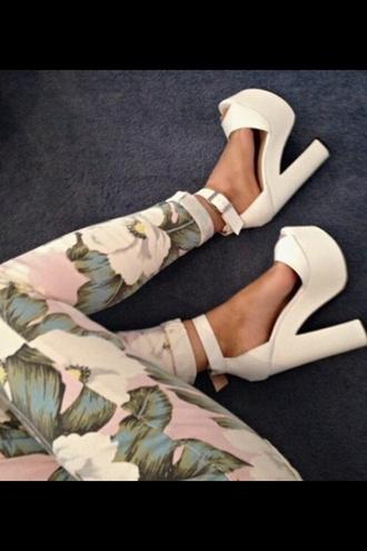 floral pants pink pants