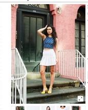 skirt,white,tennis skirt