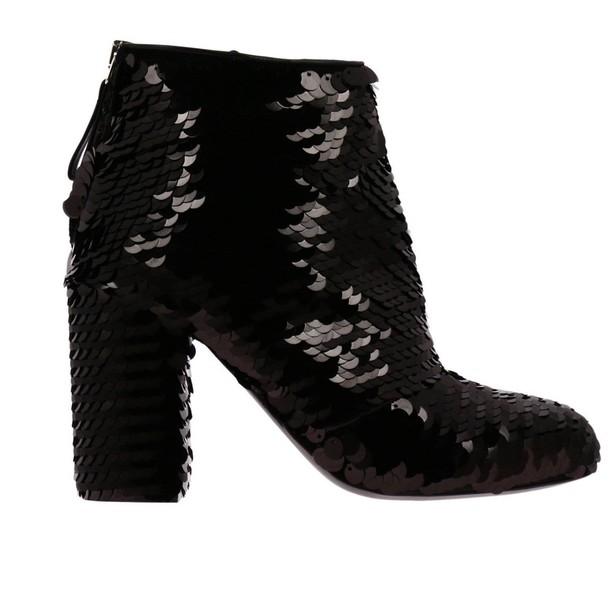 Premiata booties shoes women shoes booties black