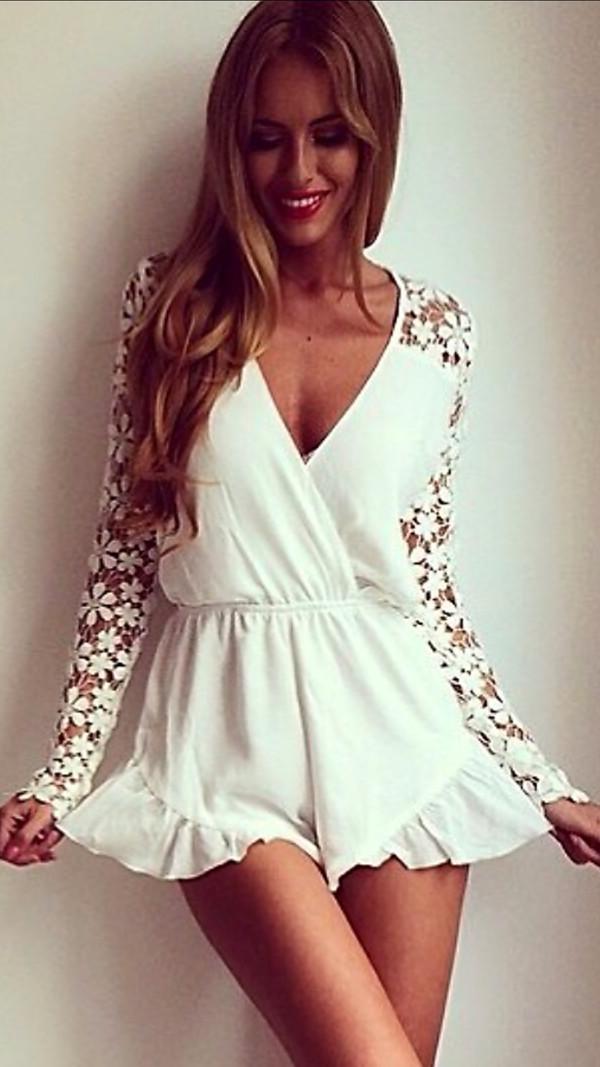 white dress dress