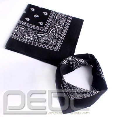 Paisley Cotton Scarf Bandana Headwrap Hairwrap Headband Double Side Printed | eBay