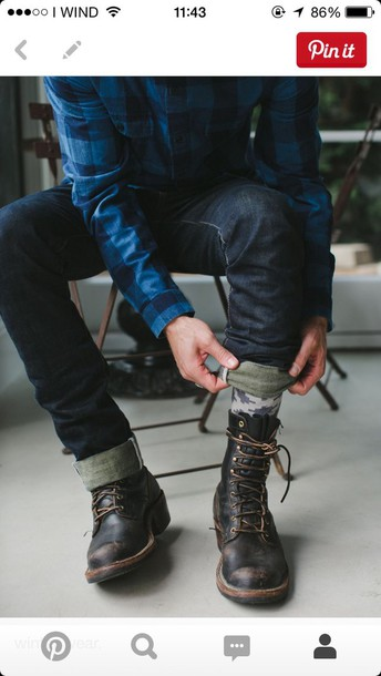 shoes black boots boots shirt