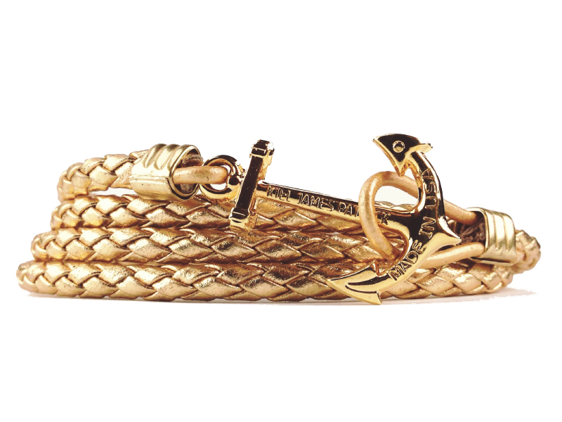 Anchor Bracelet - Royal's Golden Fleet - by Kiel James Patrick