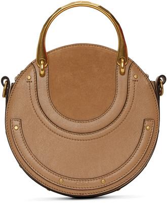 bag suede brown
