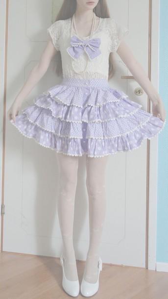 skirt dope kawaii pastel style