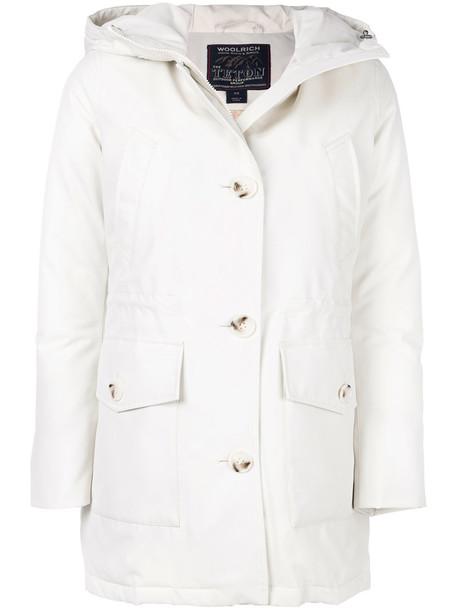 Woolrich coat women white