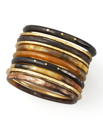 Ashley Pittman Bamba Bangle Set - Bergdorf Goodman