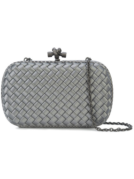 women clutch silk satin grey bag