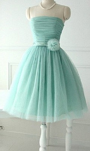 Fresh Mint Sweet Short Tulle Bridesmaid Dresses KSP326 [KSP326] - £100.00 : Cheap Prom Dresses Uk, Bridesmaid Dresses, 2014 Prom & Evening Dresses, Look for cheap elegant prom dresses 2014, cocktail gowns, or dresses for special occasions? kissprom.co.uk offers various bridesmaid dresses, evening dress, free shipping to UK etc.