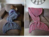 home accessory,knit blanket,blanket,mermaid,mermaid blanket,knitwear,knited blanket,tail,unisex,swd,mermaid tail,mermaidtail,mermaidblanket,pink,blue,cozy,fluffy,pajamas,fish tail,children mermaid blanket,red mermaid blanket,confy,lazy day,awsome