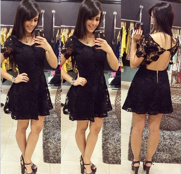 Hot lace new style sexy dress