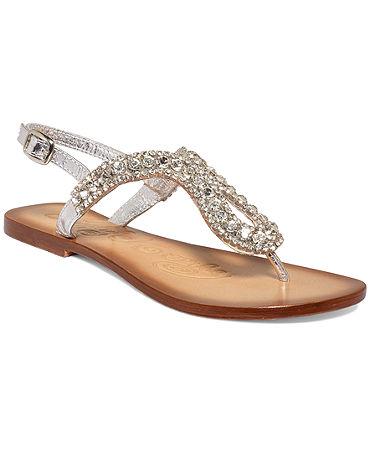 Naughty Monkey Pony Pass Flat Thong Sandals - Shoes - Macy's