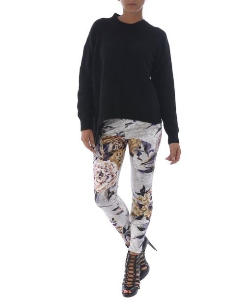 Mm6 Maison Margiela leggings embroidered floral multicolor pants