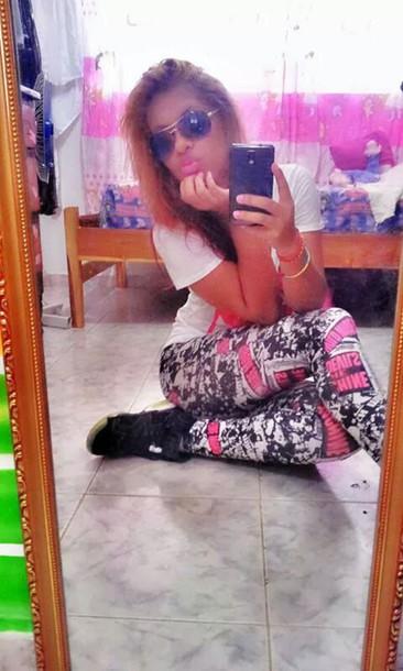 leggings colorful leggings